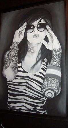 Kat VanD Girl by Chris Bronson