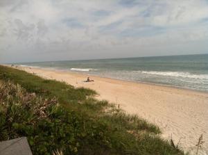 Sunbathers at Playalinda Beach. Photo Credit SCOT