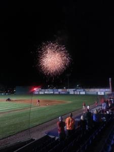 Fireworks after Nationals Vs. Astros game