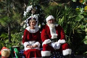 Mr. & Mrs. Claus at Brevard Zoo