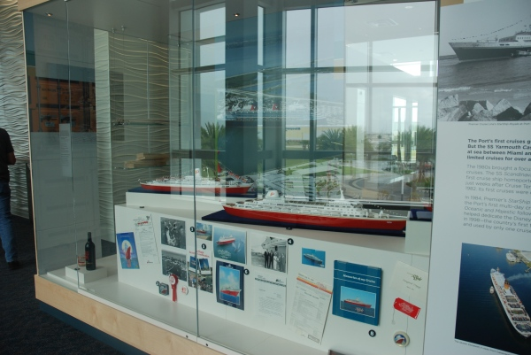 One of the historical exhibit areas
