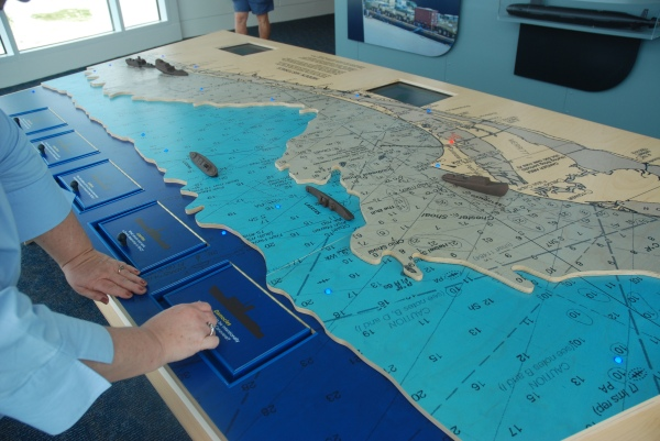 Hands on maritime exhibit