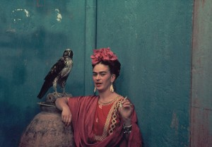 Photo credit: Nickolas Muray, Frida with Granizo, Coyoacán, 1939.